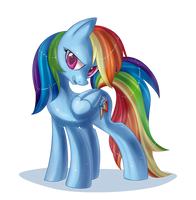 Rainbow Dash by AnthoCat
