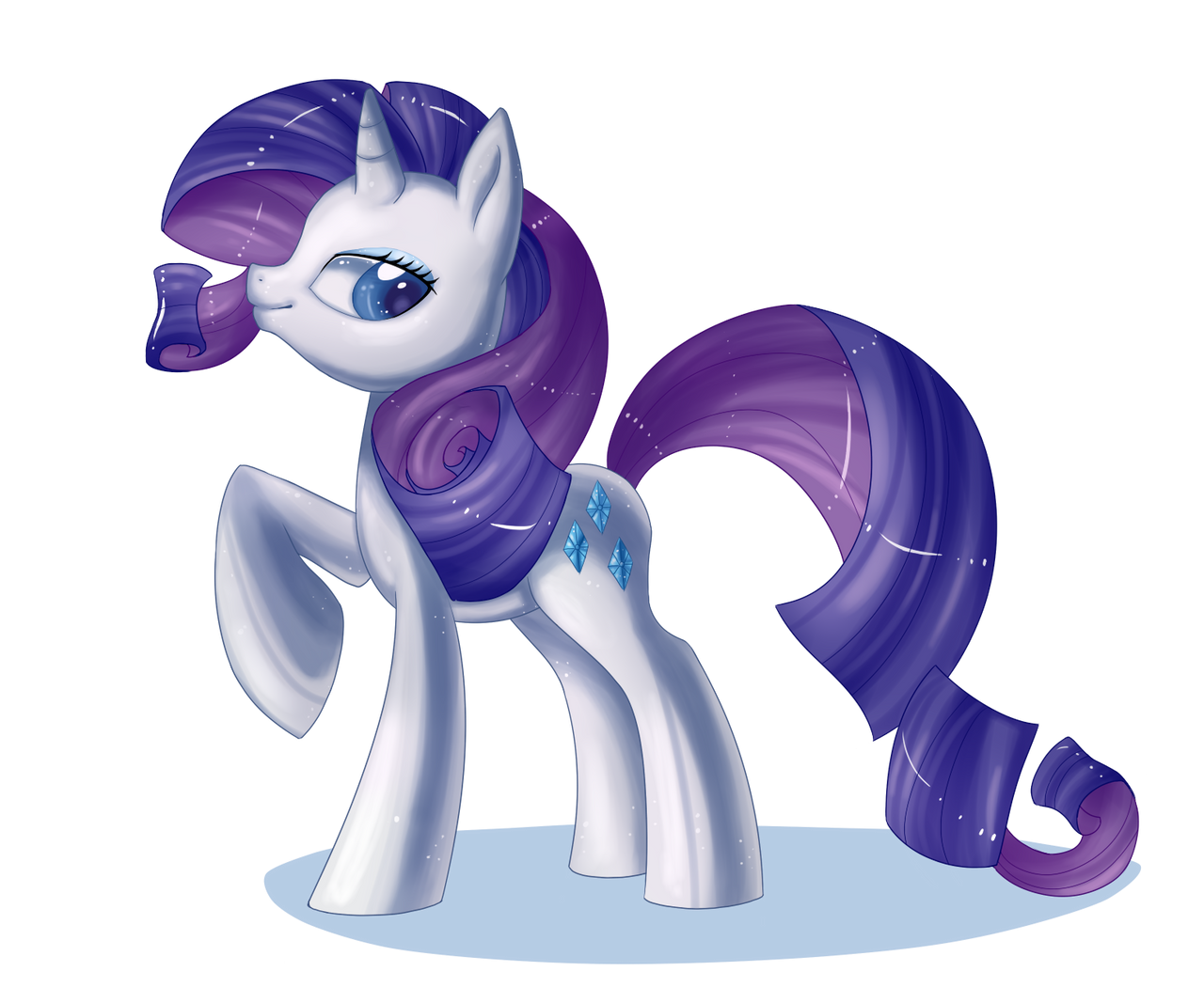 Rarity  by PauuhAnthoTheCat