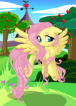 Fluttershy Loves the Nature:::...
