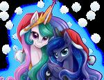 Celestia y Luna:: Juntas Una Navidad Mas