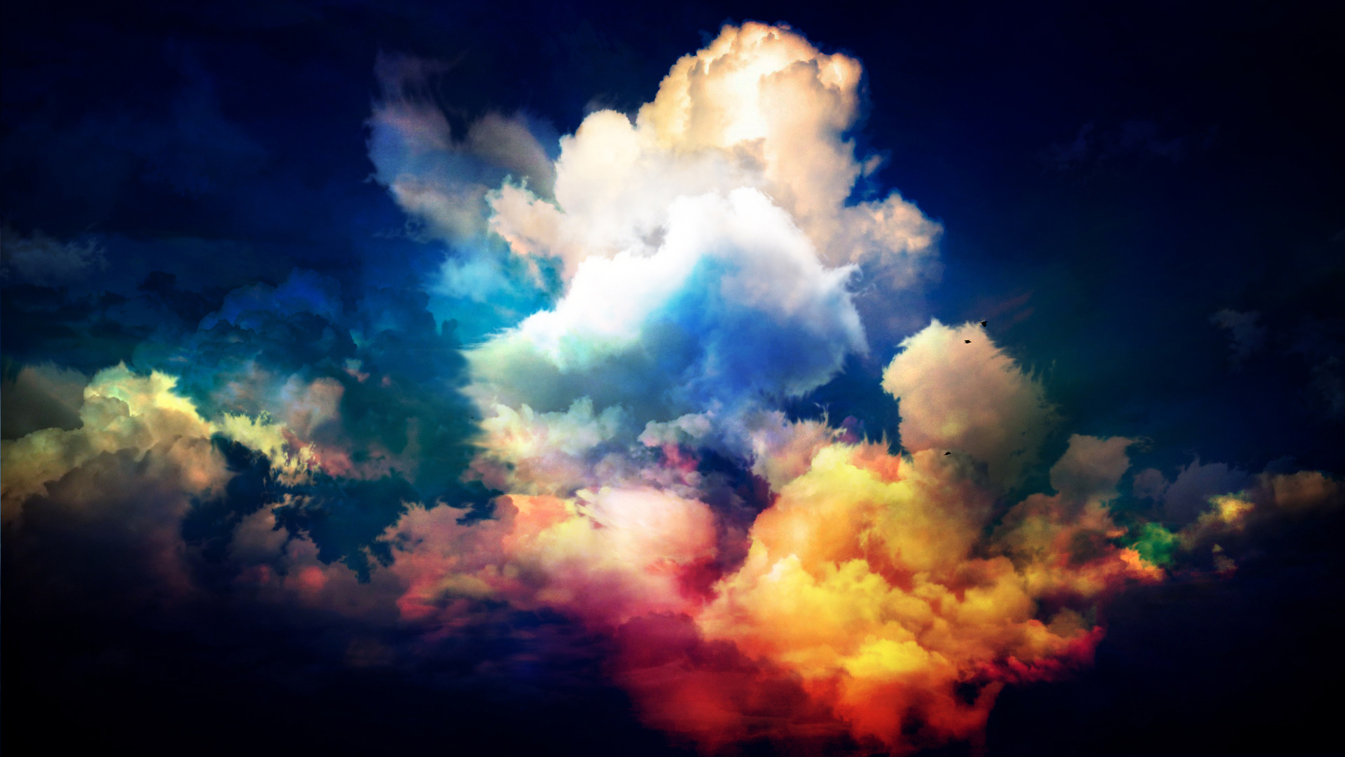 Colourful CLOUDS by THEJOMI