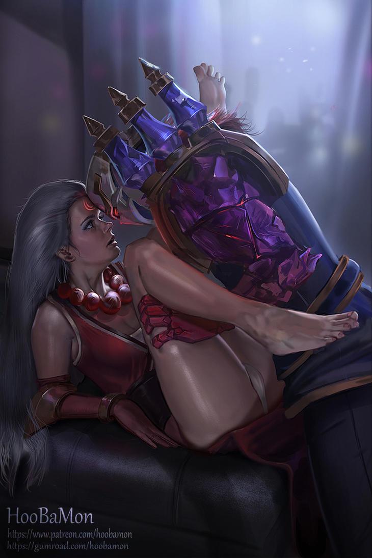 Blood Moon Diana X Jihn by Hoobamon