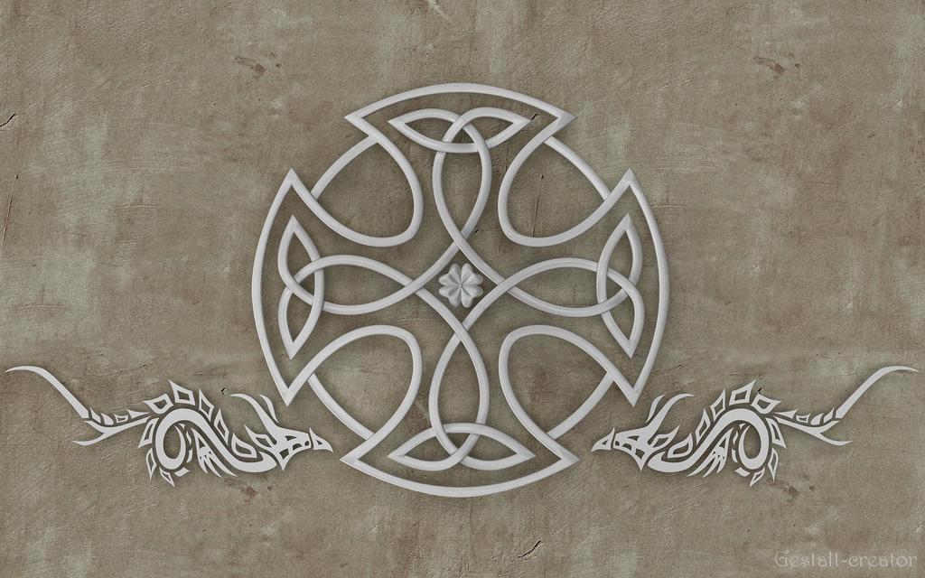 Triskele cross by Gestalt-creator