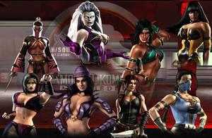 Women Rule Mortal Kombat by LostSoulInTheWind