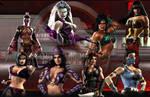 Women Rule Mortal Kombat