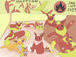 01-10-2019 - Flareon Day by JyoEspy
