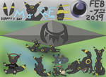 02 - 07 - Umbreon Day by JyoEspy