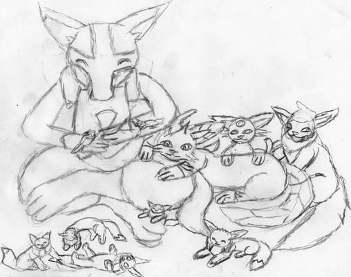 Caring Albie (sketch)