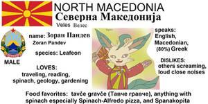 (North Macedonia) Zoran