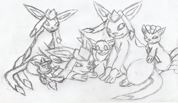 Baltic Foxes (sketch)