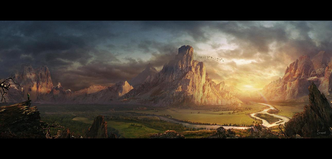 Oblivion by Shamanik7