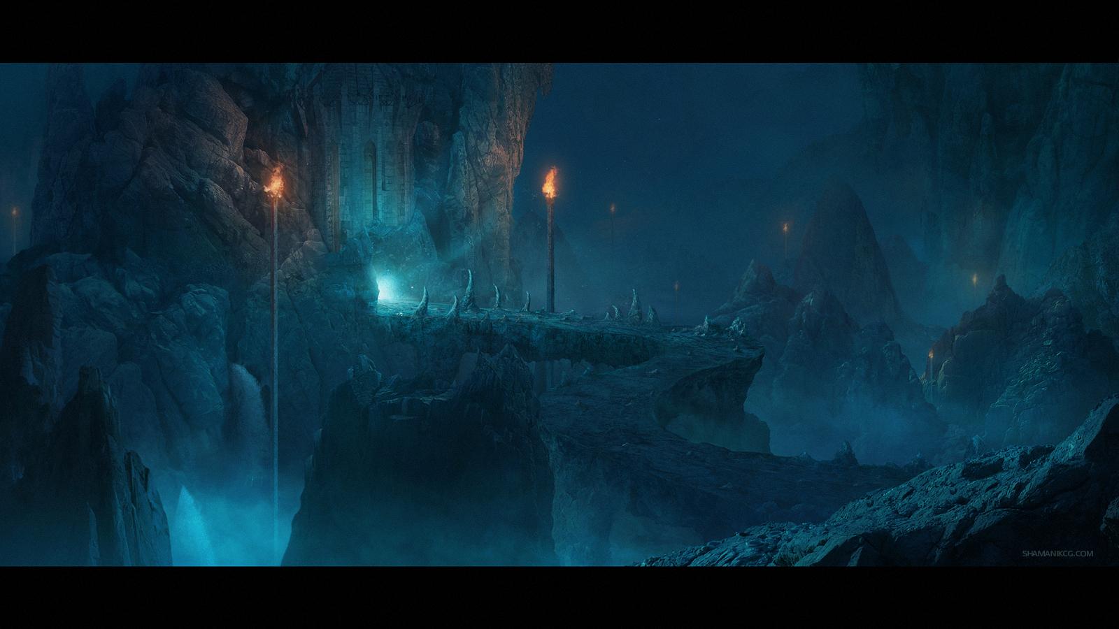 Dark Cave by Shamanik7
