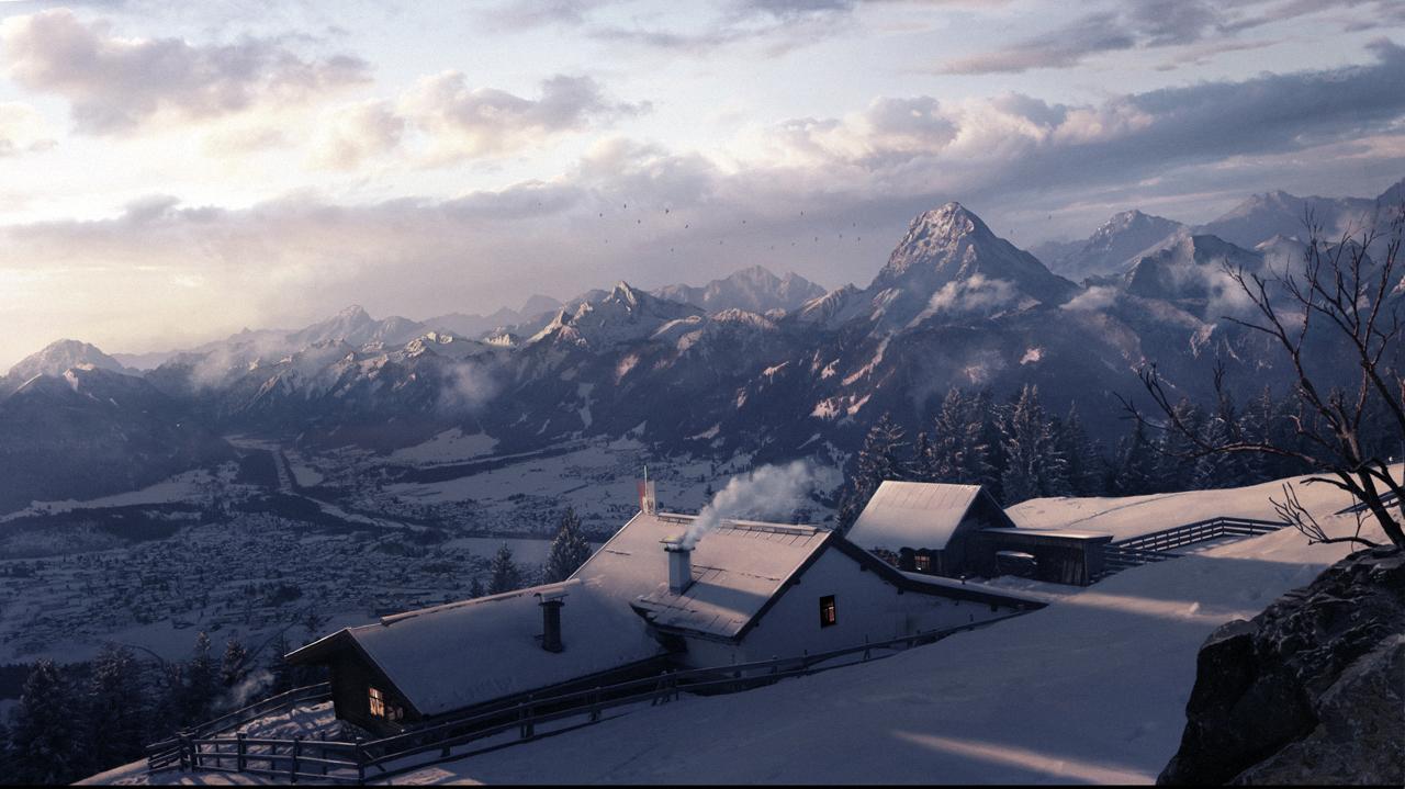 WinterLandscape4 by Shamanik7