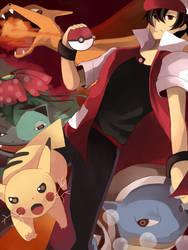 pokemon RED by Jeneko