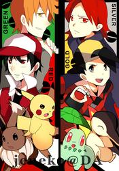 Bookmark: Pokemon by Jeneko