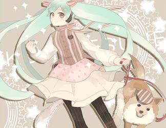 Happy Bday Miku by Jeneko