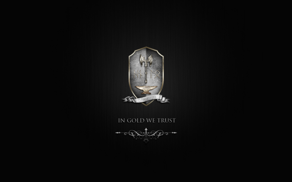 Wallpaper Series - In Gold We Trust 1920x1080 by TheRisen13