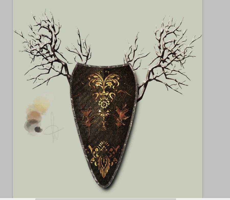 Nahadrim - Heraldic Shield by TheRisen13
