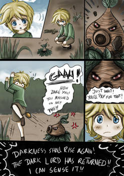 LoZ - Child Of Courage Ch.1 Pg 5.
