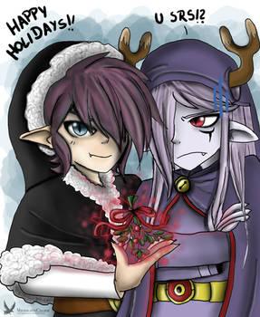 -Happy Holidays!! LoZ-