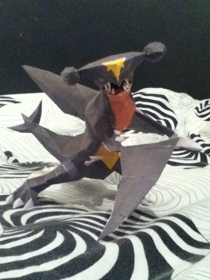 Garchomp Papercraft by Tigeress713