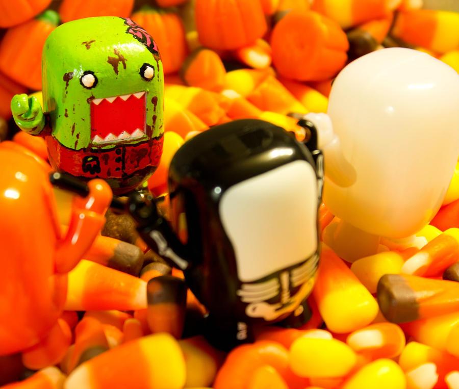 A Domo Zombie!! by PiliBilli