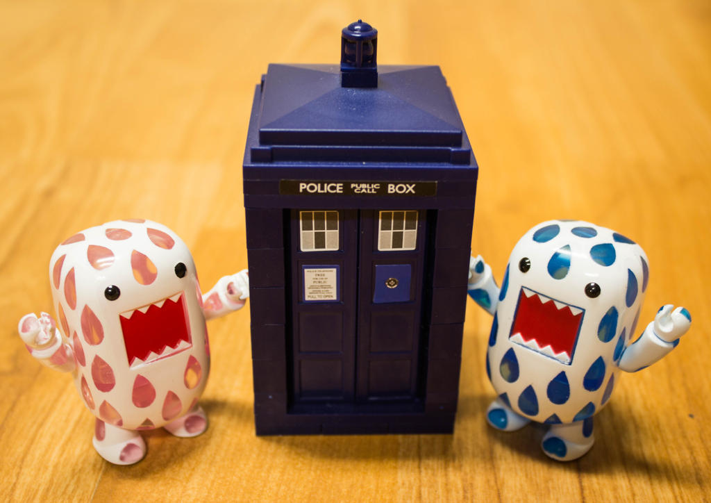 A TARDIS?? by PiliBilli