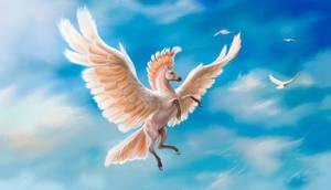 Pegasus - the Major Mitchell's cockatoo