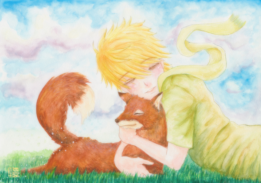 The Little Prince And Fox By Dreamstone On Deviantart