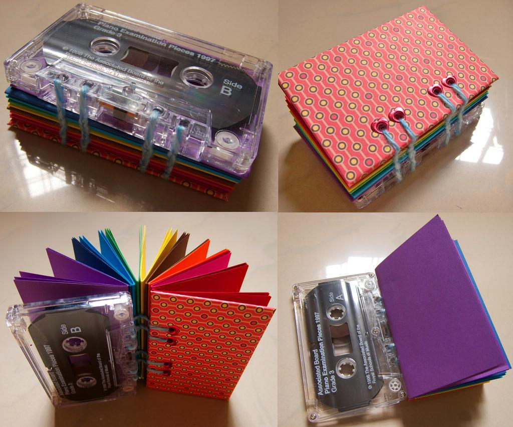 Cassette book 1 by dreamstone