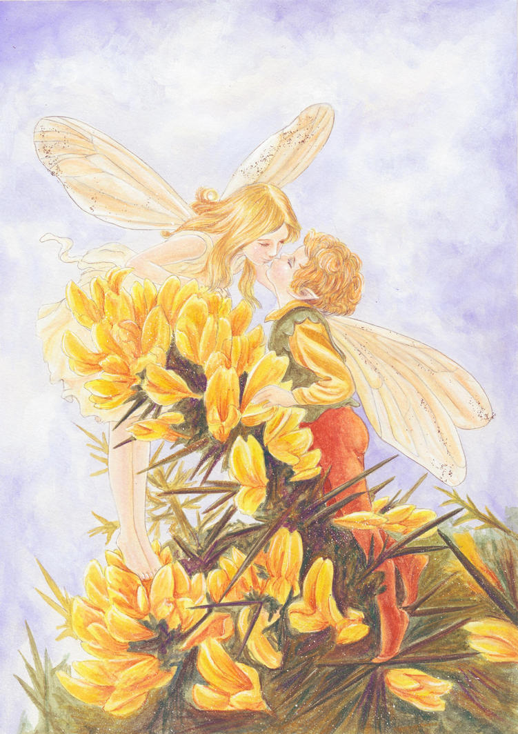 Cicely Mary Barker's Gorse by dreamstone