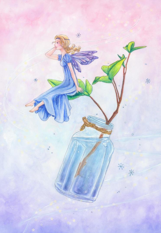 Wish in a bottle by dreamstone