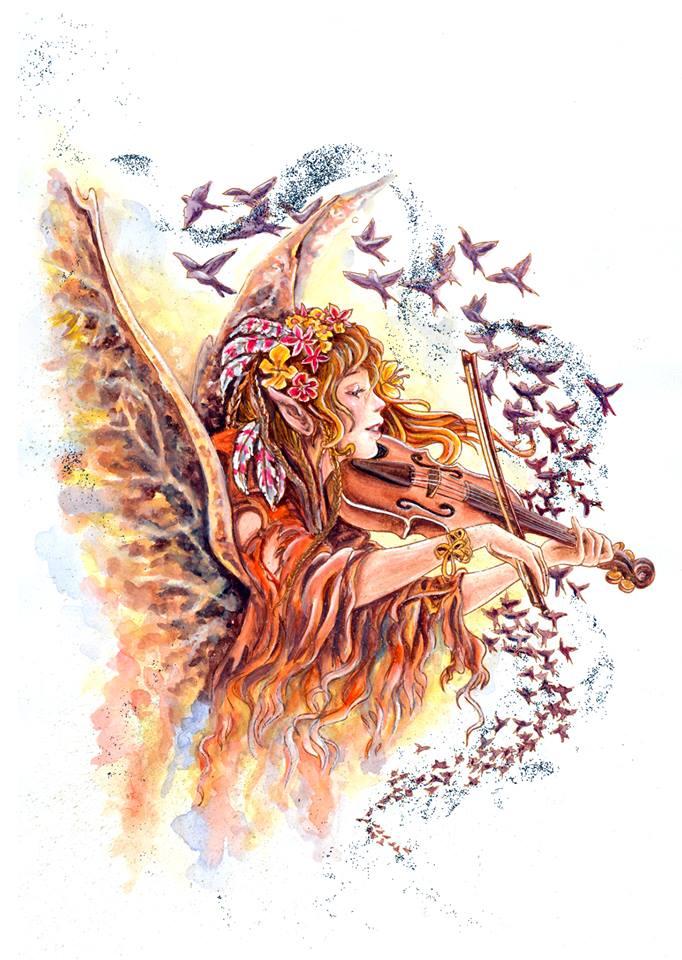 Paul Bryn Davies's Autumn Wings by dreamstone