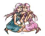 +SailorMoon+ Sailor Lethe and Sailor Mnemosyne by StasMaromi