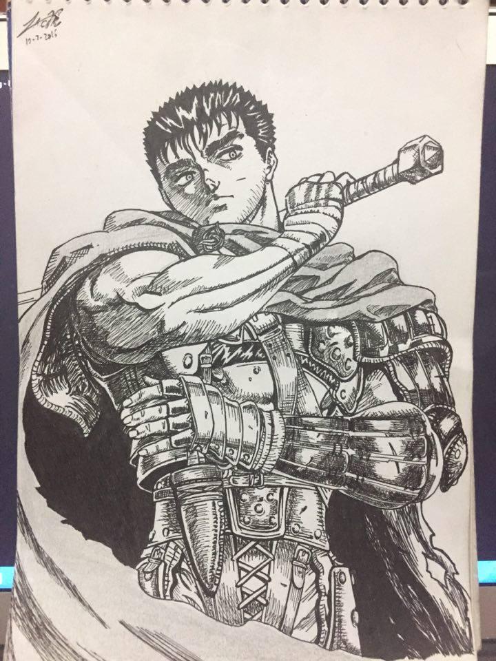 Guts - Former Raid Commander by HenpaiDesu