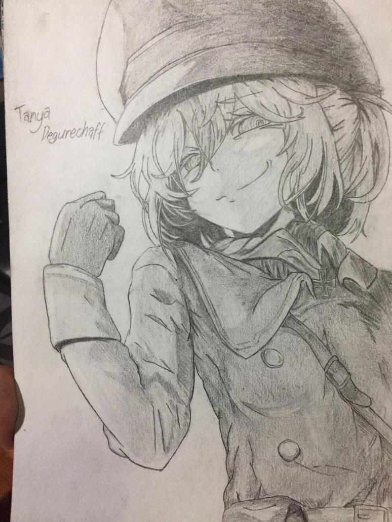 Major Tanya Degurechaff  by HenpaiDesu