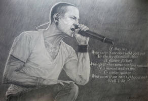 Chester Bennington ( Linkin Park ) by Madarai99
