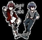 UTAU: Avery and Ten
