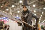 Bloodborne Hunter cosplay (at ComicCon Russia '19)