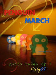 Penguin March by kirby64