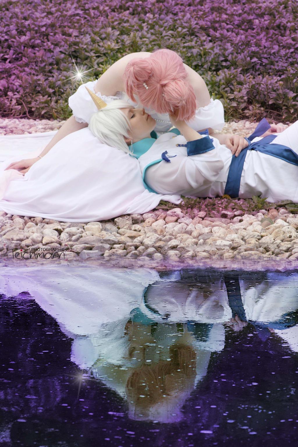 Kissing my Princess by Mistress-Mi