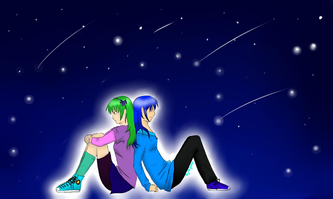 [Contest Entry] Yari and Yuki by Flajdesz