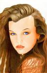 Young Milla Jovovich