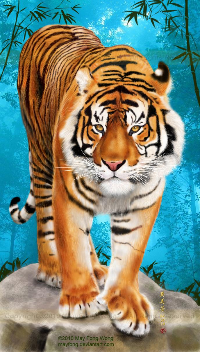 Sumatran Tiger by MayFong