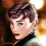 Audrey Hepburn - speed painting