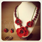 Poppies set by Merlyn-Wooden