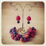 Raspberries mini set