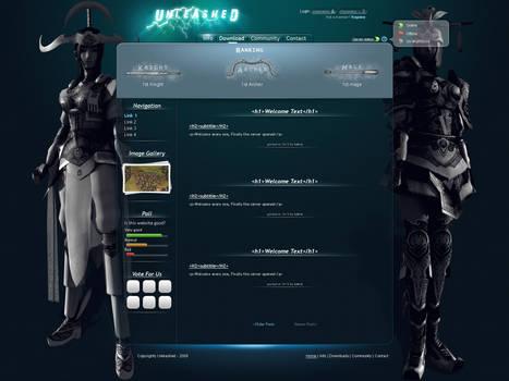 Unleached website design