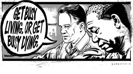 Warm-up Sketch :: Shawshank Redemption