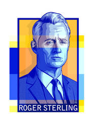 Roger Sterling by tshasteen